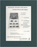 "New Military ""Matchbox"" Series Display | Print Ads"