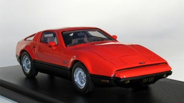 1974 Bricklin SV-1 Safety Red | Model Cars