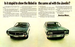 Is It Stupid To Show The Rebel In The Same Ad With The Javelin? | Print Ads