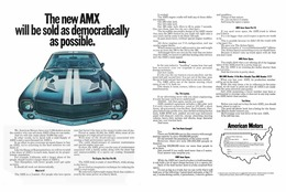 The New AMX Will Be Sold As Democratically As Possible | Print Ads