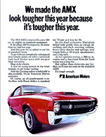We Made The AMX Look Tougher This Year Because It's Tougher This Year. | Print Ads