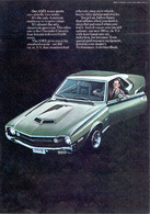Our AMX Is Our Sports Car | Print Ads