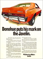 Donohue Puts His Mark On The Javelin. | Print Ads