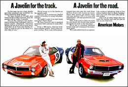 A Javelin For The Track And A Javelin For The Road | Print Ads