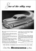 "1953 RoadMaster Ad ""Star of the Silky Way"" 
