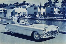 1953 Buick Wildcat Show Car from Brochure | Print Ads
