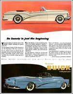 "1953 Buick Skylark Ad ""Its Beauty is Just Beginning"" 
