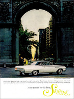 """1963 Buick Skylark Ad """"The world's most glamorous way to get away from it all.""""   Print Ads"""
