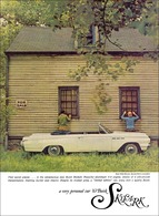 "1963 Buick Skylark Convertible Ad ""Find Secret places . . . ""   Print Ads"