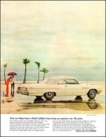 """1964 LeSabre Convertible Ad """"Only one thing keeps Buick from being an expensive car. The price.""""   Print Ads"""