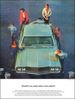 """1964 Buick Special Ad """"Wouldn't you really rather wash a Buick?""""   Print Ads"""