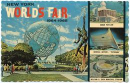 New York World's Fair 1964-1965   Postcards