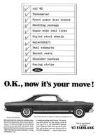 O.K., Now It's Your Move!   Print Ads