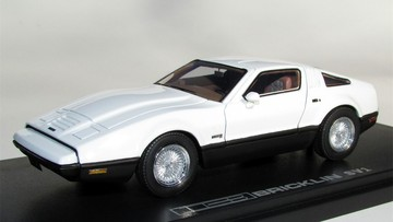 1974 Bricklin SV-1 Safety White | Model Cars