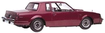 1985 Buick Regal T-Type | Model Cars