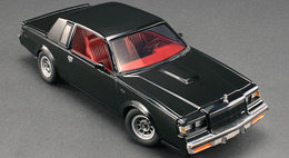 Gmp diecast muscle cars 1986 buick t type black medium
