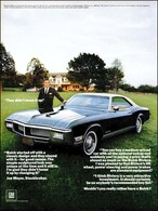 "1968 Buick Riviera Ad ""They didn't louse it up."" 