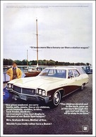 "1968 Buick Sportwagon Ad ""It looks more like a luxury car than a station wagon 