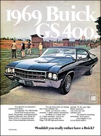 "1969 Buick GS 400 Ad ""1969 Buick GS 400"" 