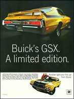 "1970 Buick GSX Ad ""A Limited Edition"" 