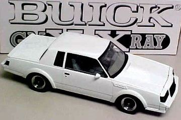 1987 Buick GNX   Model Cars
