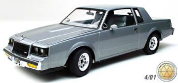 1987 Buick Regal  T-Type Turbo | Model Cars