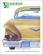 1958 Chevrolet Introduction | Print Ads