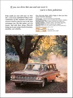 """1959 Chevrolet Ad """"If you can drive this one and not want it . . ."""" 