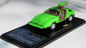 1974 Bricklin SV-1 Founders Edition Safety Green | Model Cars