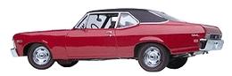 1968 Chevrolet Nova SS 350 | Model Cars