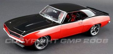 1969 Chevrolet Camaro Mothers and Black | Model Cars