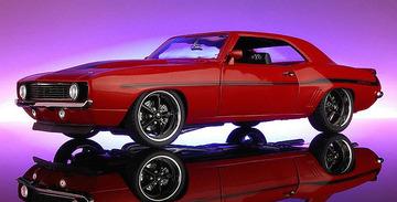 1969 Chevrolet Camaro Yenko Street Fighter   Model Cars