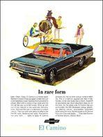 "1967 El Camino Ad ""In Rare Form"" | Print Ads"