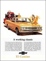"1967 El Camino Ad ""A working classic"" | Print Ads"