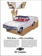 1967 Chevrolet El Camino pick-up,white | Print Ads