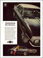 "1968 Camaro SS Ad ""Customizing the Camaro"" | Print Ads"