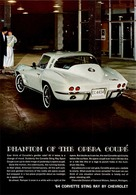"1964 Corvette Ad ""Phantom of the Opera Coupe"" | Print Ads"