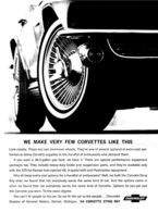 "1964 Corvette Ad ""We make very few Corvettes like this."" | Print Ads"