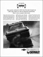 """1966 Corvette Ad """"Some purists snickered in 1953  . . . """" 