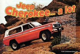 Jeep Cherokee ... A Lot | Print Ads