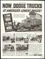 Now ... Dodge Trucks At America's Lowest Prices! | Print Ads
