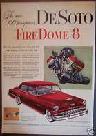 The New 160 Horsepower DeSoto Fire Dome 8 | Print Ads