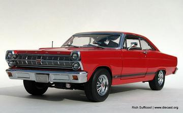 1967 Ford Fairlane GT 390 Hardtop   Model Cars