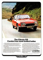 The Citroën GS. Comfort Has Never Looked Better. | Print Ads