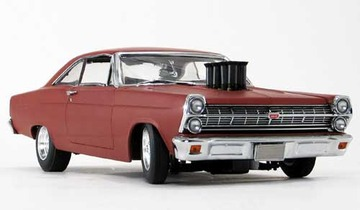 1967 Ford Pork Chop Chop Shop Fairlane Big Block V8 with Velocity Stacks | Model Cars