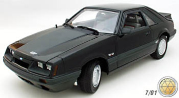 1985 Ford Mustang GT Coupe | Model Cars