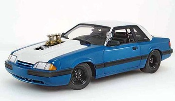 1987  Ford Pork Chop Chop Shop Ford Mustang 5.0 Bounty Hunter | Model Cars