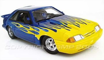 1987 Ford Mustang LX Hatchback Street Heat | Model Cars