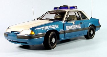 1989 Ford Mustang LX 5.0 Police Special - Georgia Highway Patrol | Model Cars