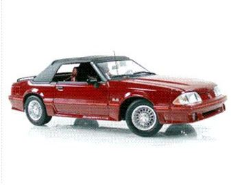 1989 Ford Mustang GT Convertible | Model Cars